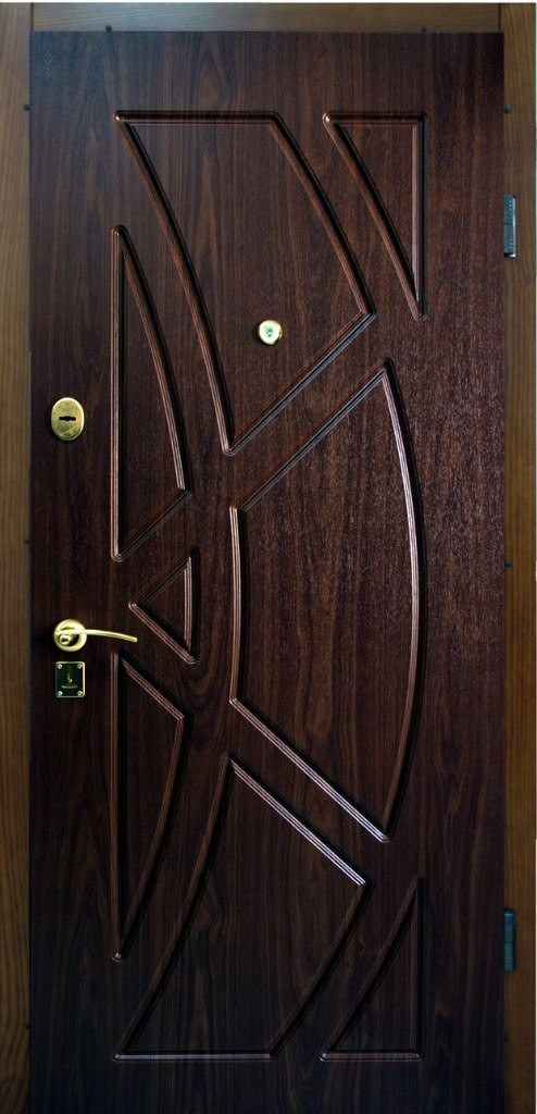 дверь входная с мдф