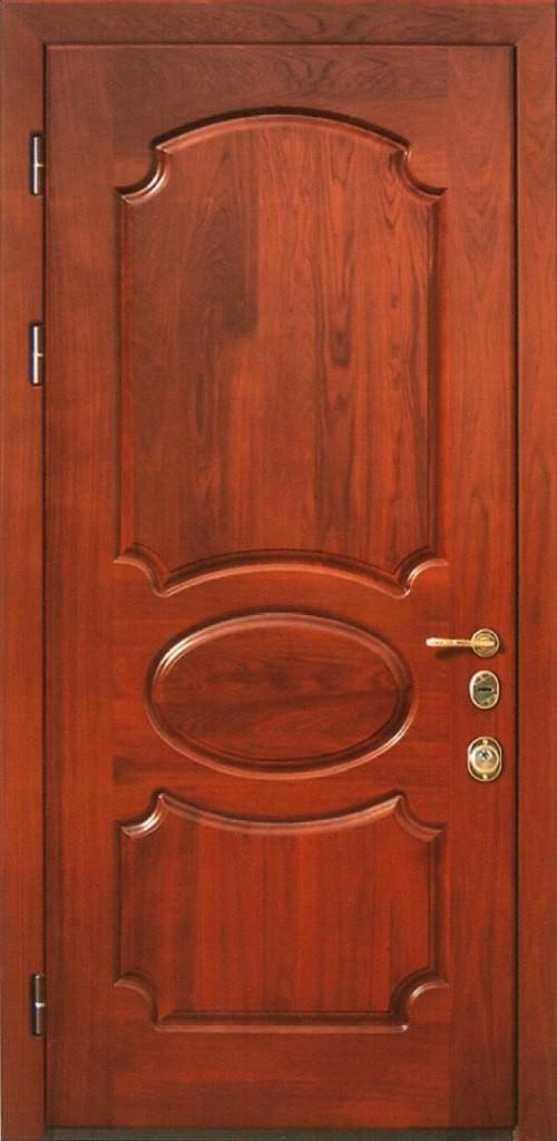металлические двери с металлической отделкой