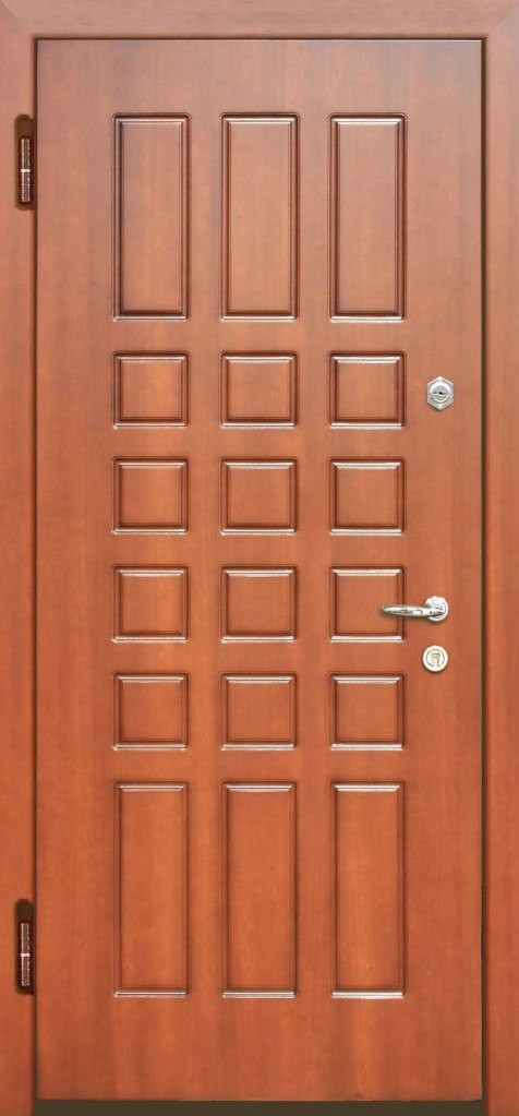 металлическая двери мдф